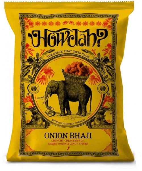 Howdah  Onion Bhaji - Zwiebel-Kurkuma-Chili-Gebäck