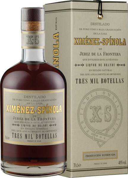 Ximénez-Spínola | Brandy Criadera 3.000 botellas D.O.