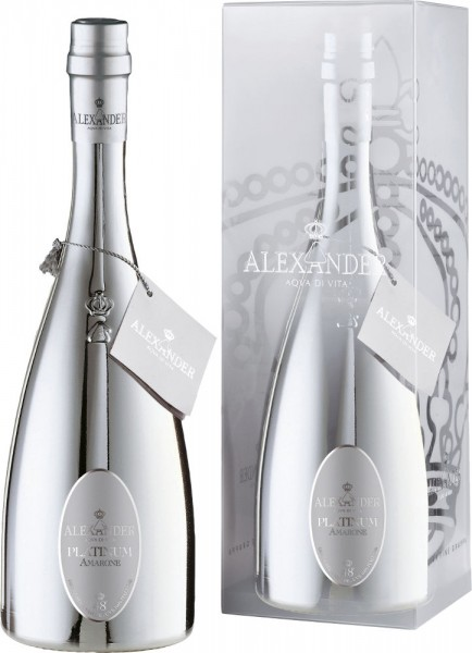 Bottega   Grappa Alexander Platinum di Amarone