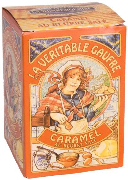 La Dunkerquoise  La veritable gaufre Caramel au beurre salé - Butterkaramellwaffeln