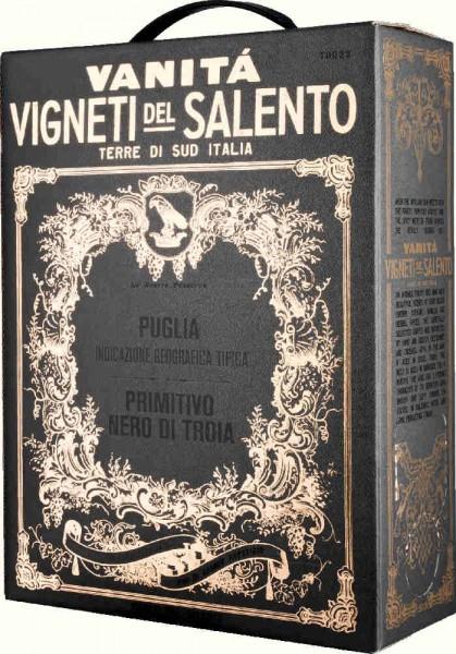 Farnese | Vanità Primitivo-Nero di Troia Bag in Box 3L