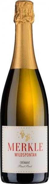 Merkle-Wildspontan | Crémant Pinot brut Flaschengärung