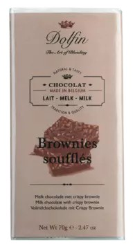 Dolfin | Vollmilchschokolade Brownies soufflés