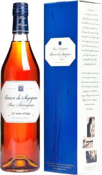 Baron de Sigognac | Bas Armagnac 15 ans d'Âge Appellation Contrôllée
