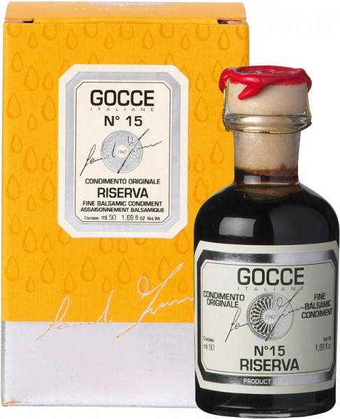 Gocce | Condimento Alimentare Riserva N° 15 Balsamico