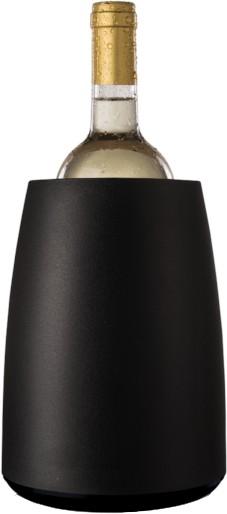 VacuVin   Weinkühler mit aktivem Kühlelement schwarz