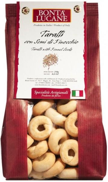 Bontà Lucane| Tarallini con semi di finocchio - mit Fenchelsamen
